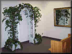 Interior Chapel At The Office Of Clark County Civil Marriages